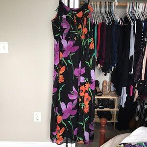 Lane Bryant floral maxidress